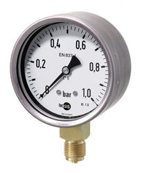 Pressure gauge, industrial design Ø100 mm and Ø160 mm. Photo 2